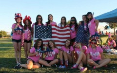 Rio Cheer Fundraises for Relay for Life