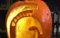 Outdoor Adventure Class Competes in Pumpkin-Carving Competition