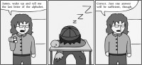 sleep comic