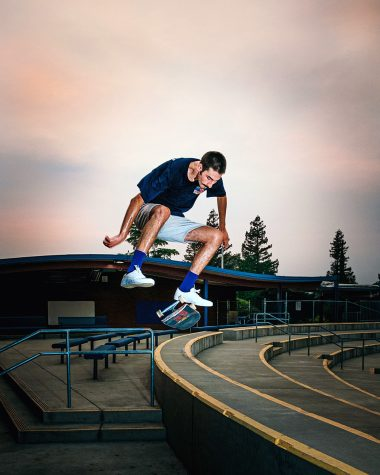Skateboarding was one of Micah Roths favorite activities during the Covid-19 shut down.