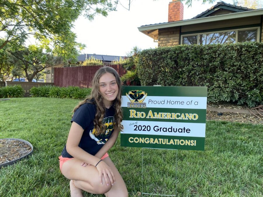 Class of COVID-19 Receive Yard Signs