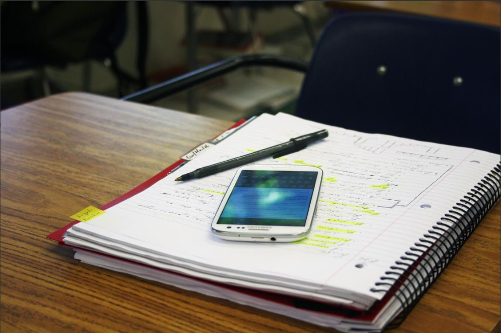 Portable Power: A look at how smartphones are changing the way students do their homework