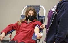 Rio students participate in the Blood drive
