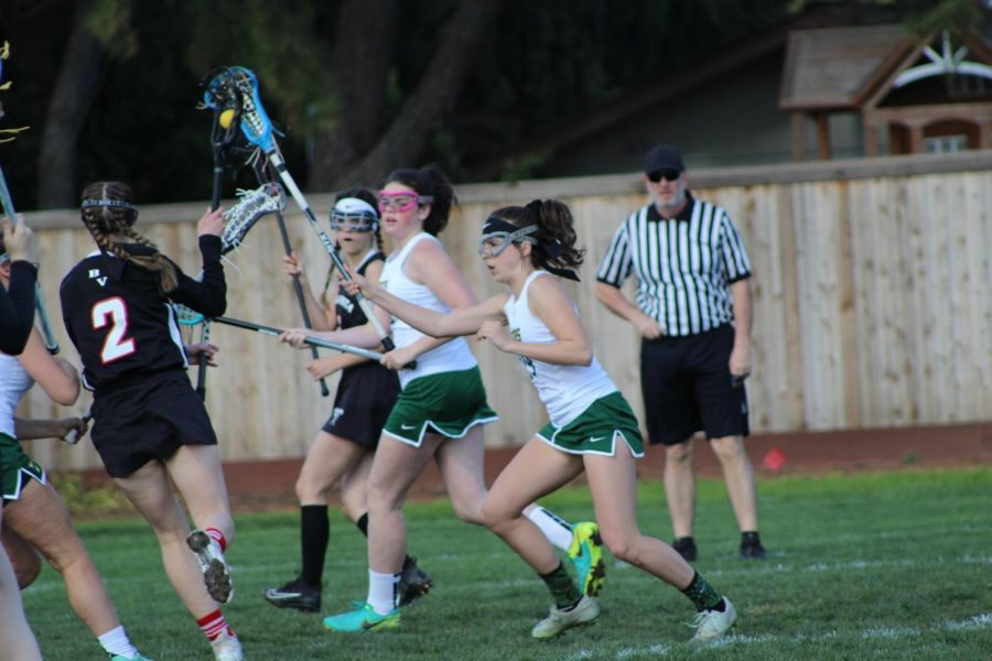 Solo senior Brenna Thomas shines  on lacrosse team