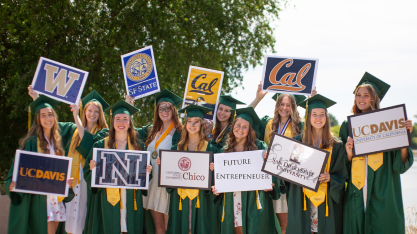 Rio Seniors celebrate future plans after college. Some members switched colleges as more information was released and others follow the path they always dreamed of.