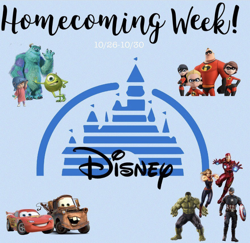 Publicity for homecoming spirit week Oct 26-30 was posted on the @rioraiders Instagram account and all class accounts.
