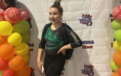 Freshman Samantha Courtade excels in both gymnastics and dance, winning first place in her most recent competition in Texas with her team.