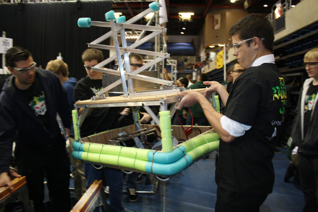 Robotics+Competition+a+F.I.R.S.T.+for+School