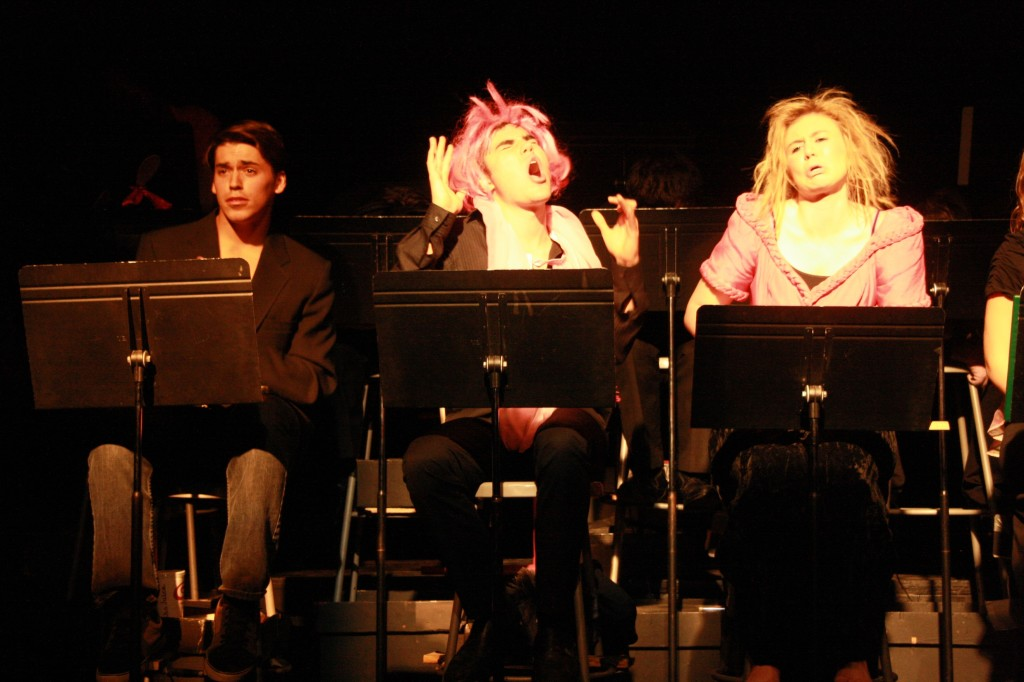 Reader's Theater Spoofs 'Cinderella' Story