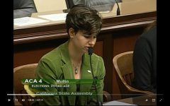 Junior Naomi Piper-Pell speaks in favor of Proposition 18 to the Assembly Elections and Redistricting Committee in June 2019.