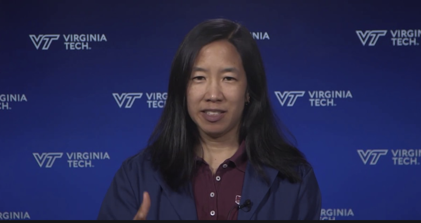 Lindsey Marr is a Rio graduate and an engineering professor at VT with expertise in airborne transmission of viruses, air quality, nanotechnology.