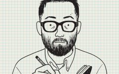 Adrian Tomine's self portrait