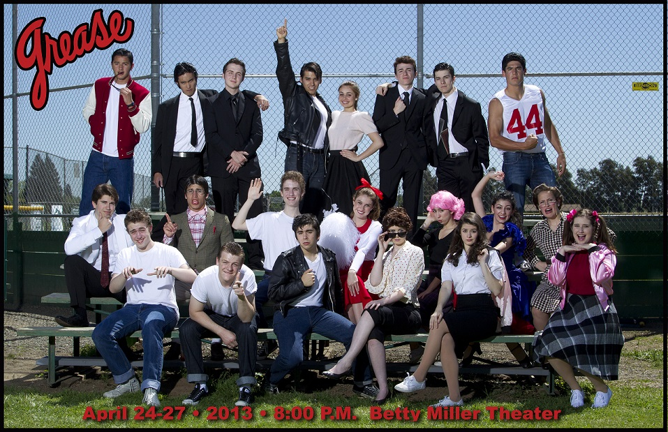 """Spring Play """"Grease"""""""
