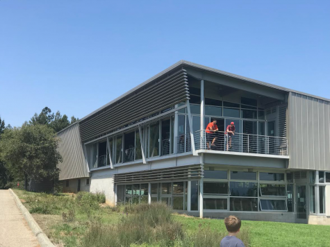 The UC Santa Cruz athletics and gym building In March 2019