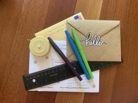 Simple additions like colored pens and stickers can add artistic flair and unique personal touches to a simple envelope or letter.