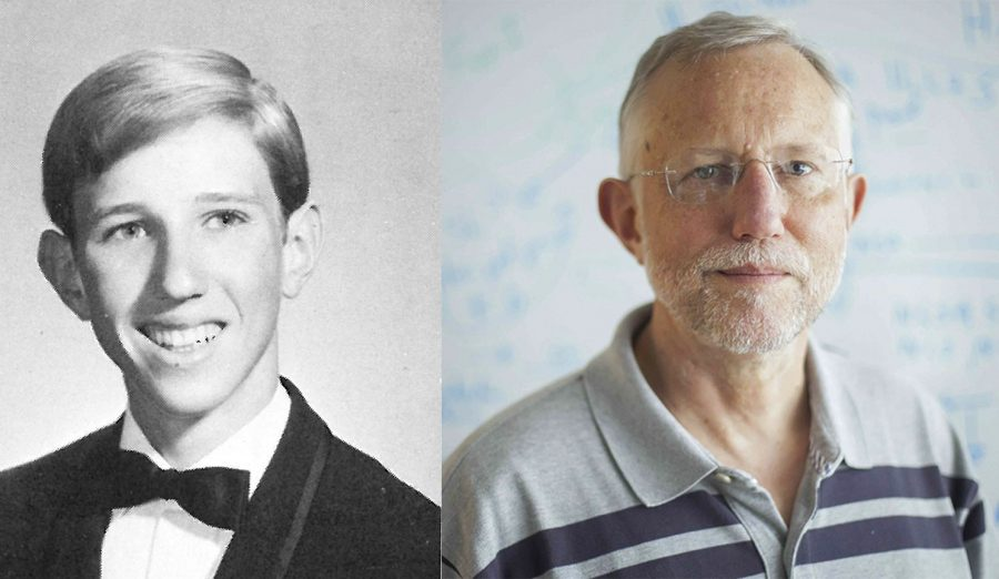 Charles Rice, who won the 2020 Nobel Prize for Medicine, graduated from Rio in 1970. His senior portrait is shown on the left.