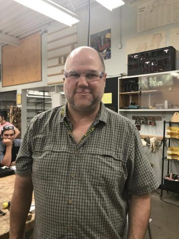 Q&A: Michael Waltz, Wood shop Teacher